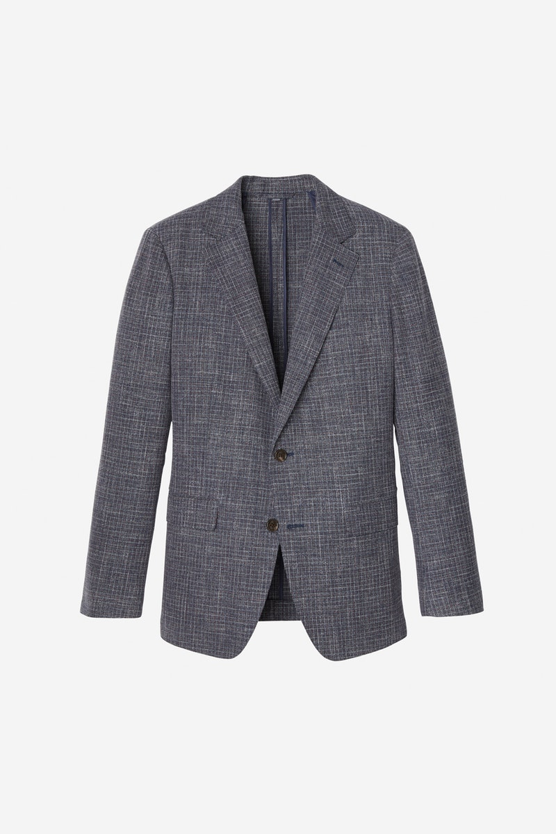 Unconstructed Italian Wool Blazer - Bonobos with an unlined, unstructured wool-cotton blend jacket.