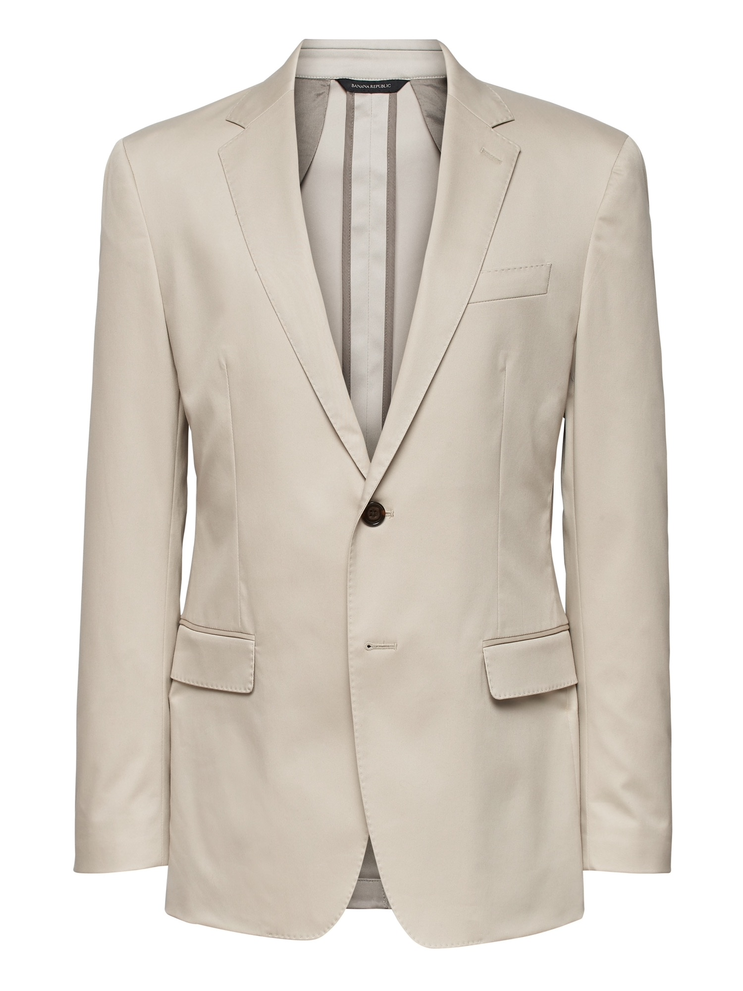 Slim Core Temp Blazer - Banana Republic's new half-lined warm weather blazer for the office and dinner
