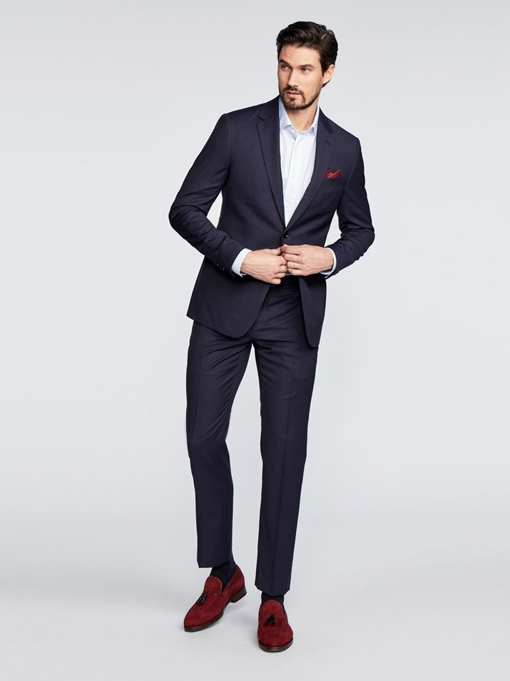 Hartford Fineline Navy Suit - Indochino is full-on MTM that provides a killer fit at an easy price point.