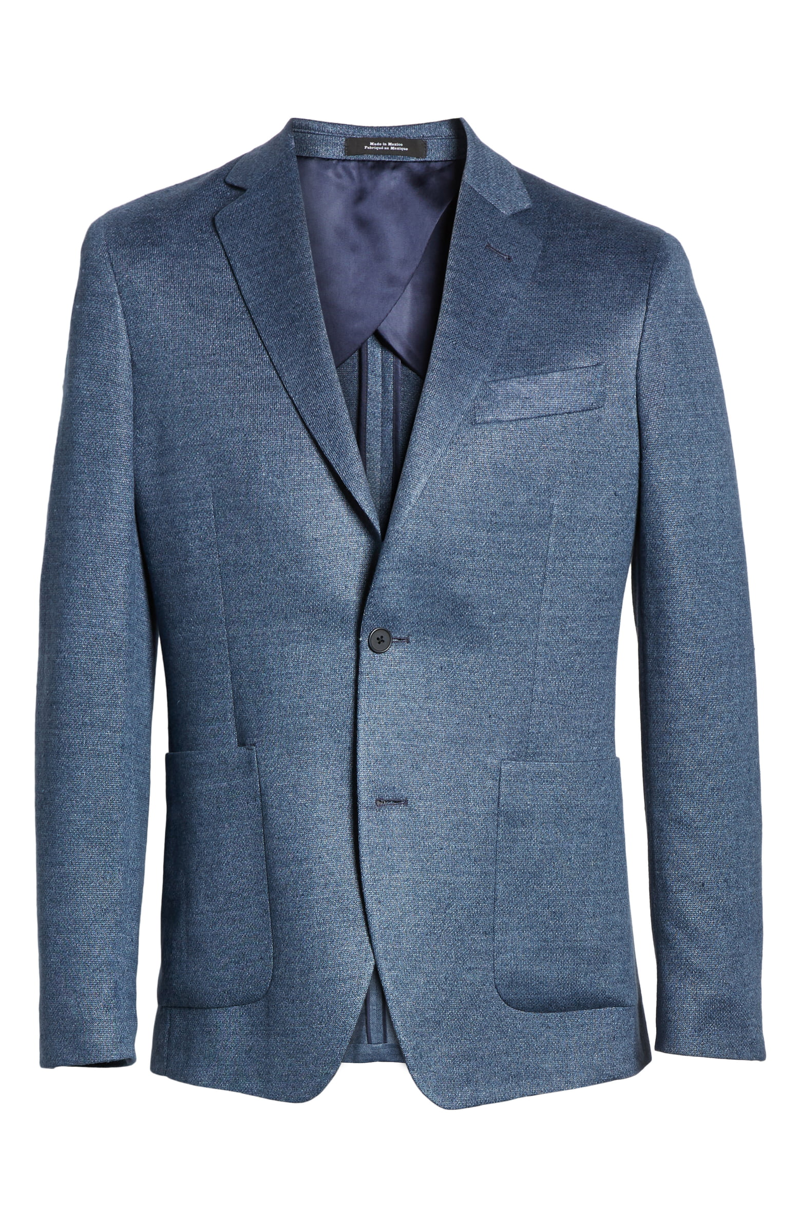 Trim Fit Linen Sport Coat - Nordstrom Men's Shop has an affordable lightweight jacket option for the warm 6 months that will be necessary from May until October.