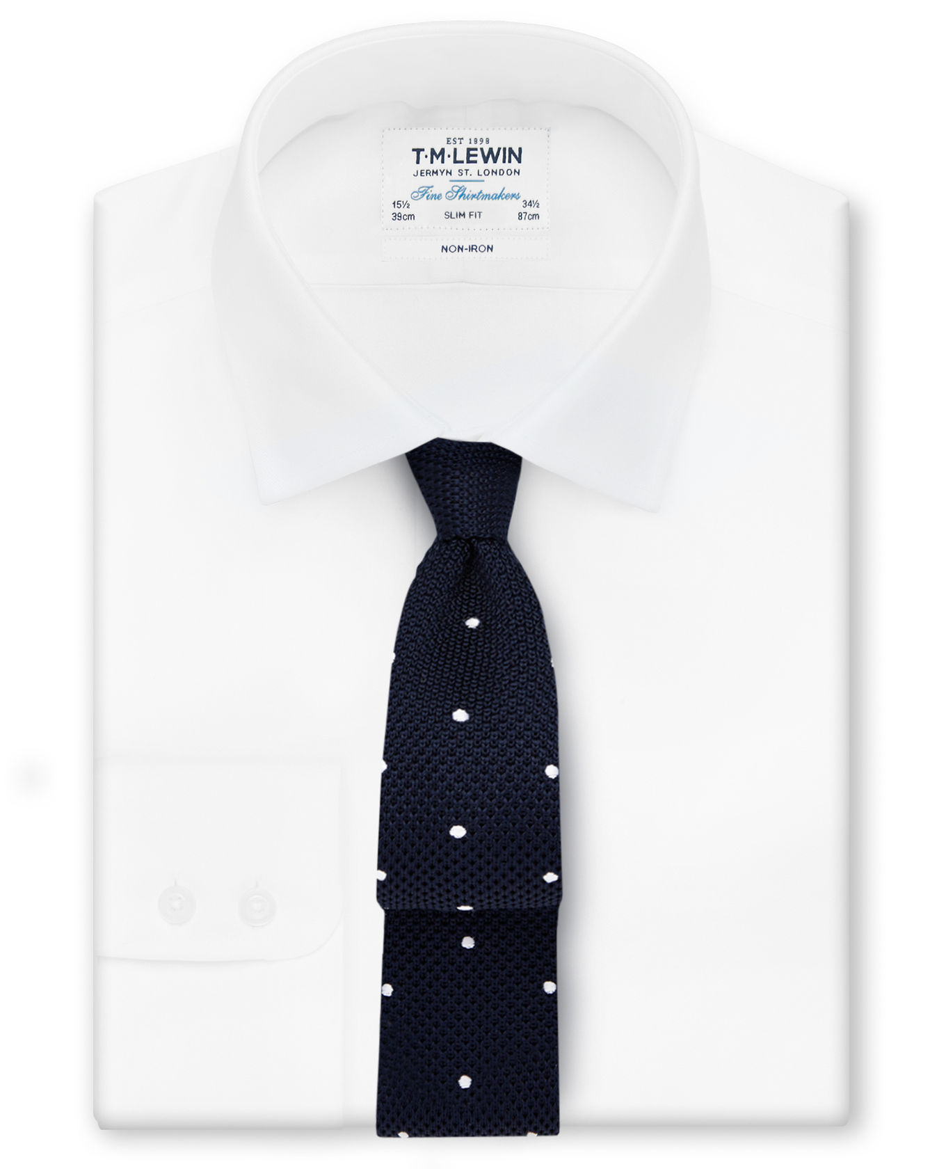 Non-Iron Twill Slim-fit Shirt - T.M.Lewin is a manager's go-to and a quality non-iron option