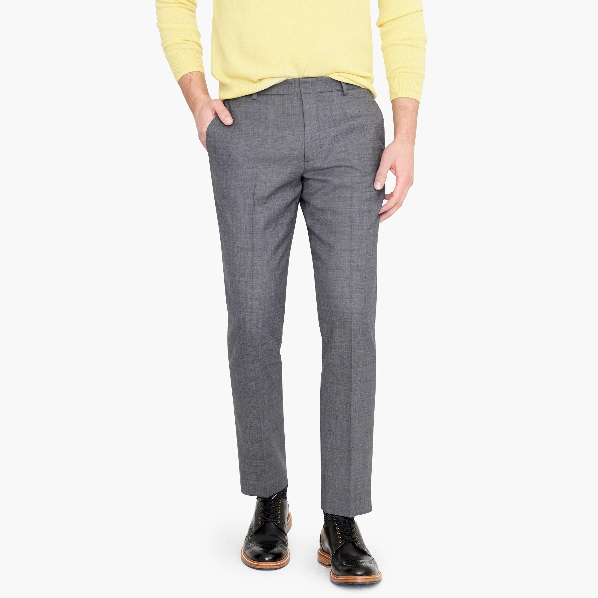 Ludlow Slim-fit Pant - J.Crew's version of the wool go-to's for business casual