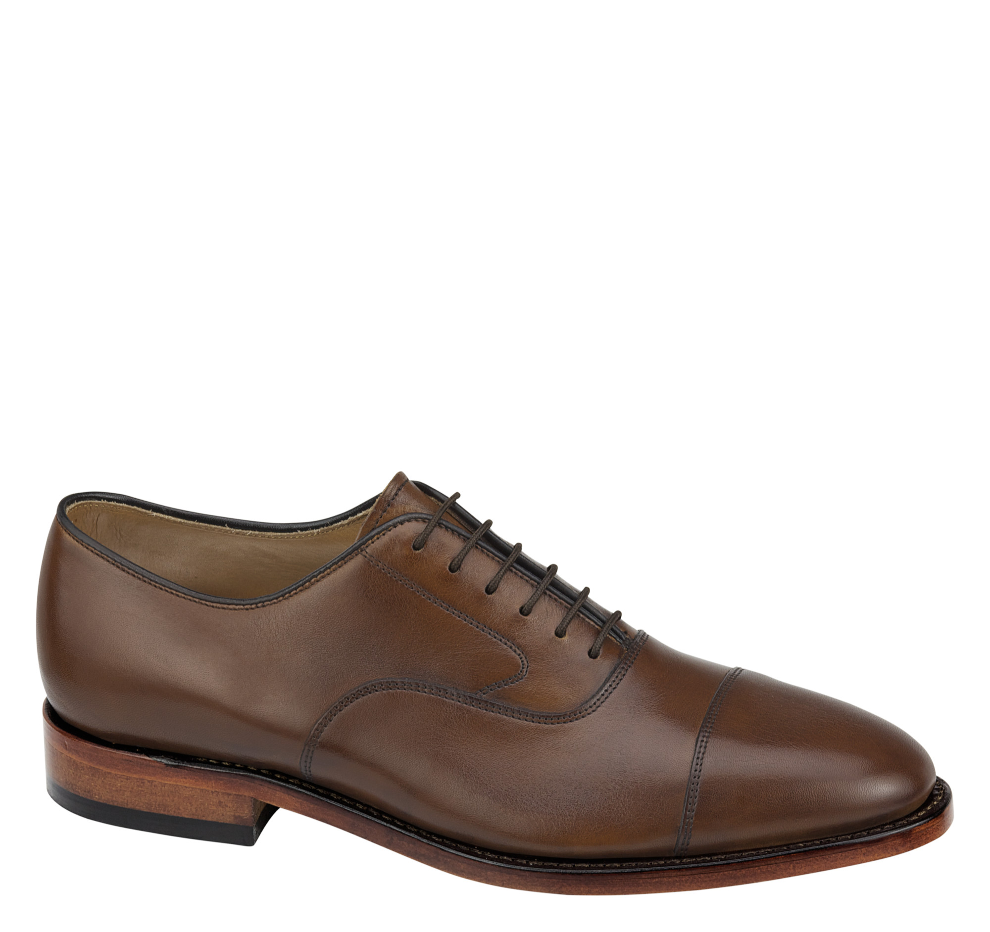 Melton Cap Toe - Johnston Murphy is the standard starter shoe for most consultants buying on a budget