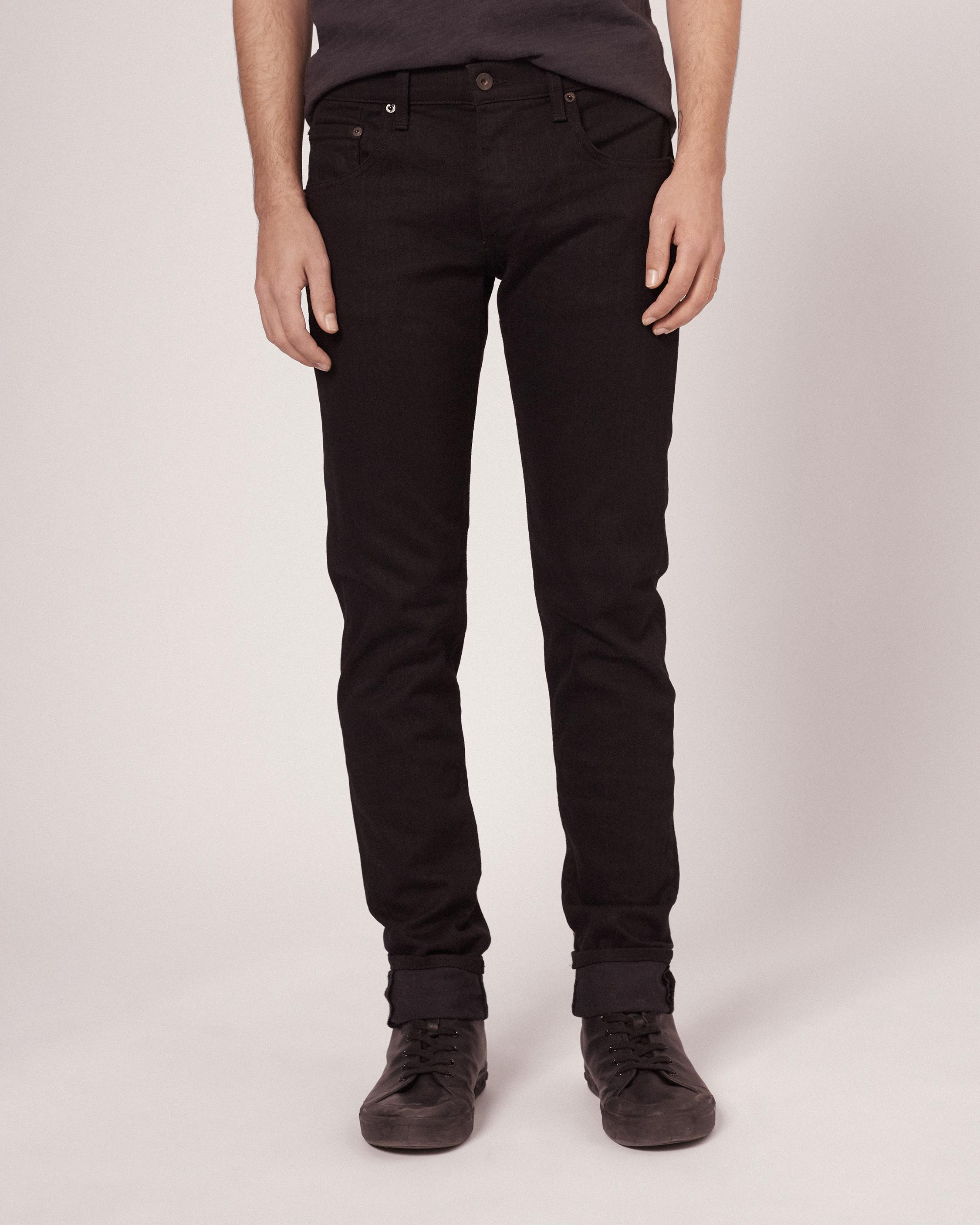 Rag and bone fit 1 black jeans.jpeg