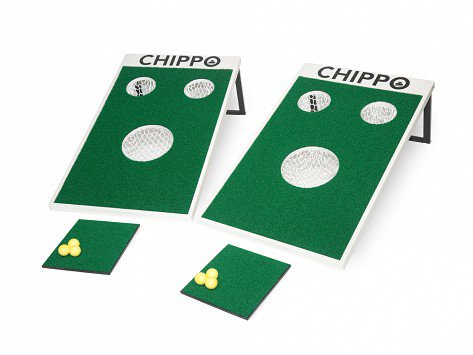 Chippo Lawn Game - Most guys have the putt returner for their living room, but what they don't have is a fun game that lets them practice their chipping. If your Dad is an avid backyard gamer and in love with golf, this is the best thing you could ever get him.