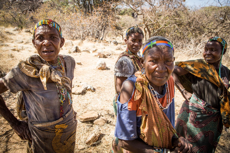 hadza women tanzania egalitarian beadind hunter gatherer