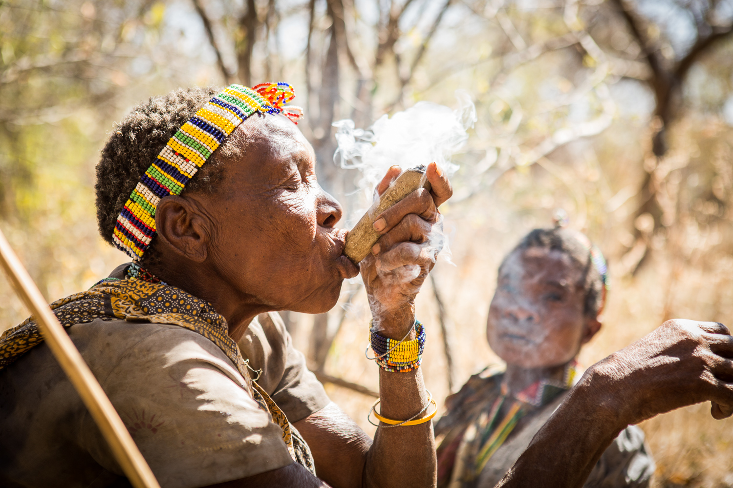 hadza tribe egalitarian society hunter gatherer tanzania anthropology smoking pipe