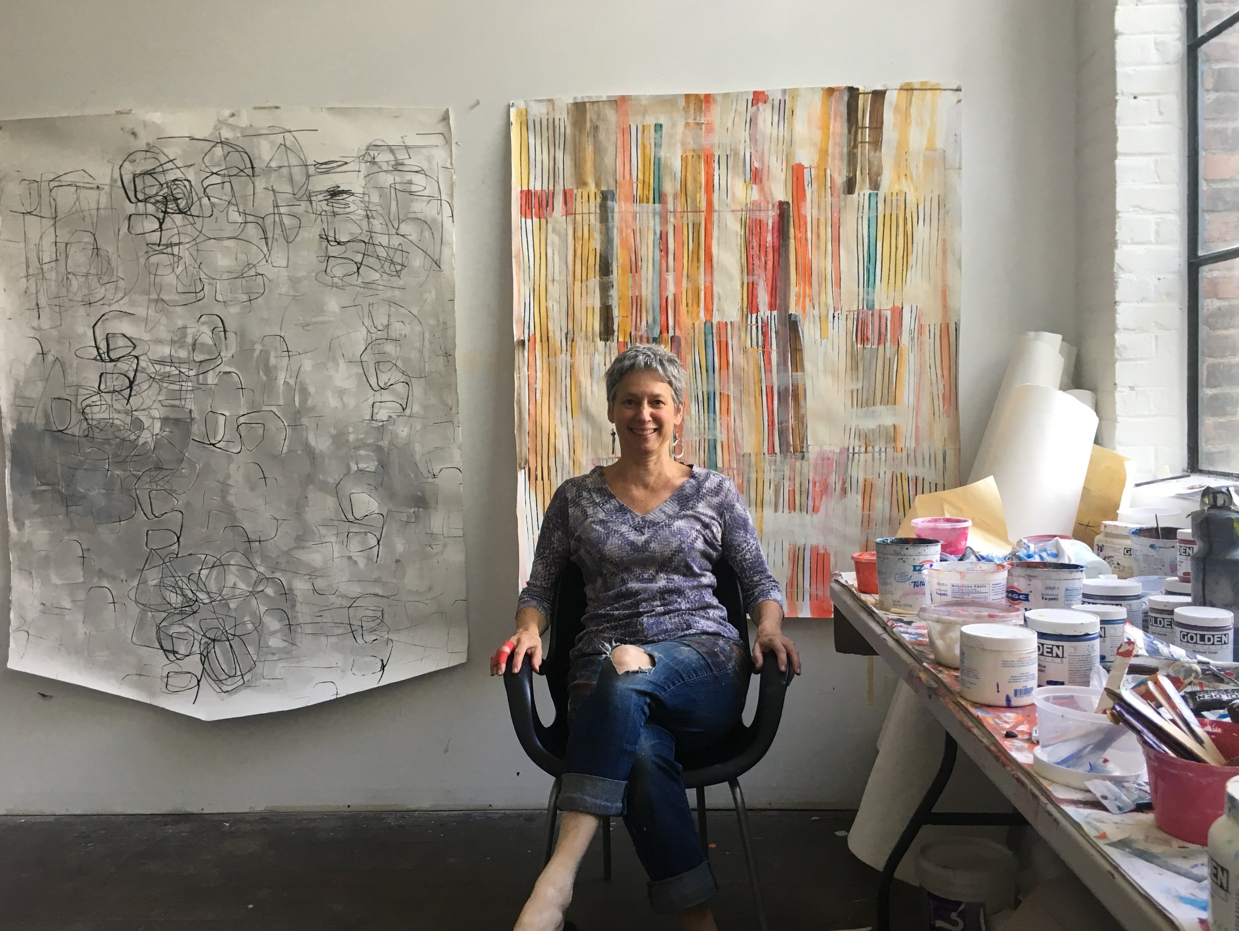 barbara smith gioia in her studio