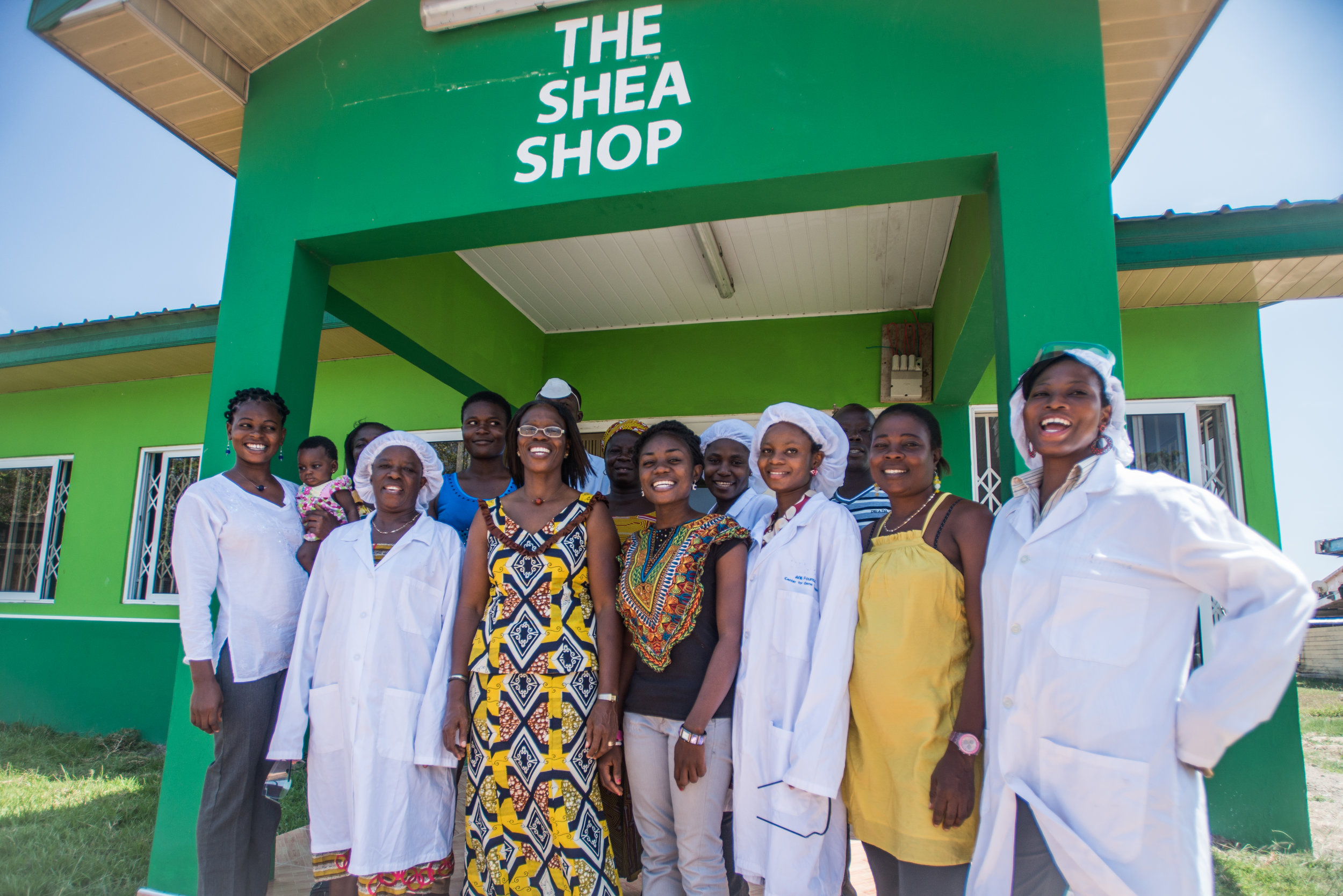 Photo: Cherie Blair Foundation for women
