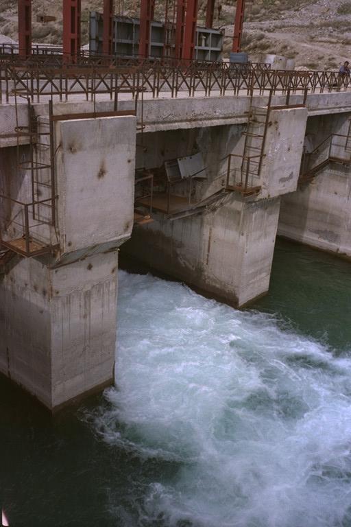 A Pamir energy Hydro power plant. Photo Courtesy of the Aga Khan Foundation USA.