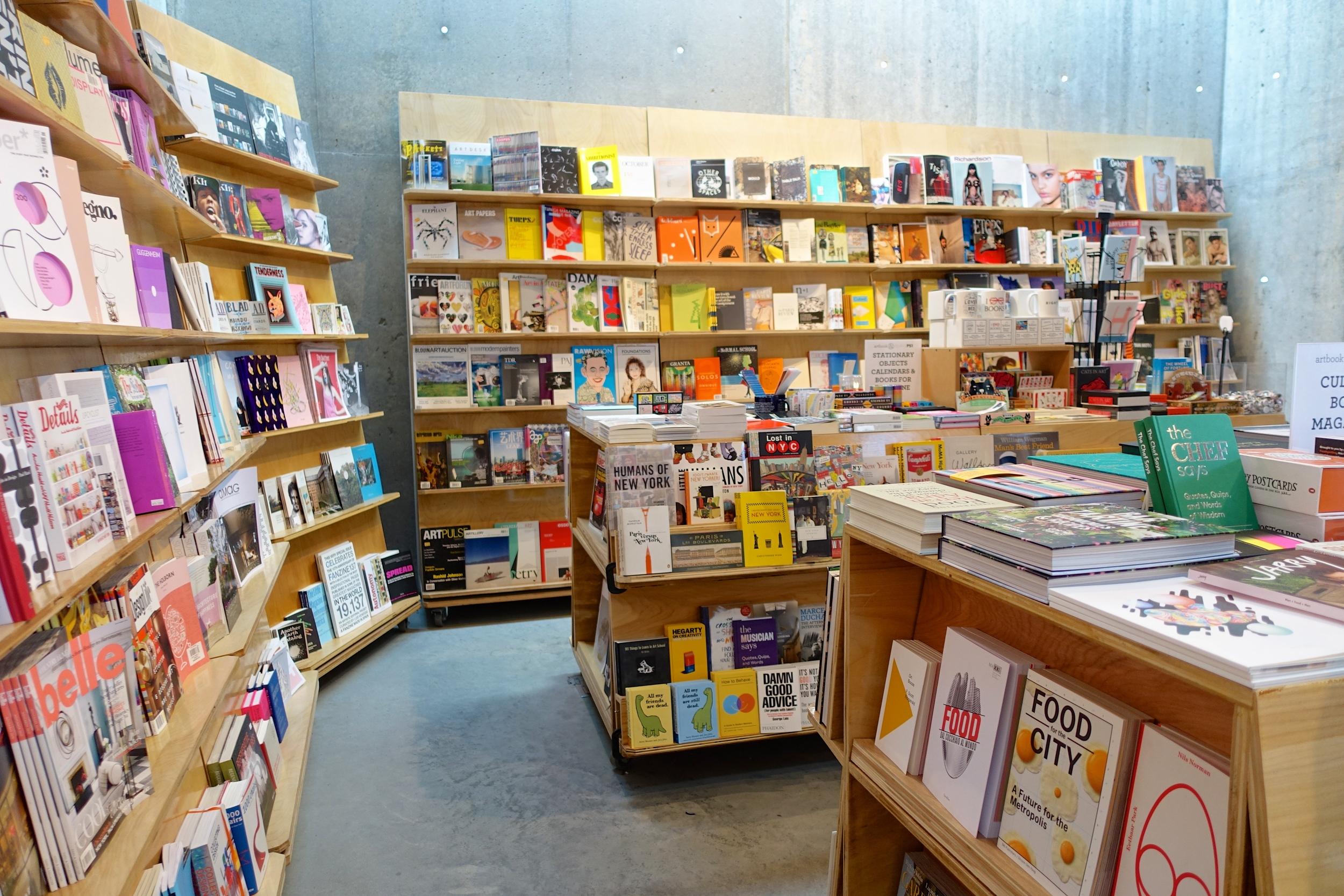 Daytripper365--The magazine shop at PS1.JPG