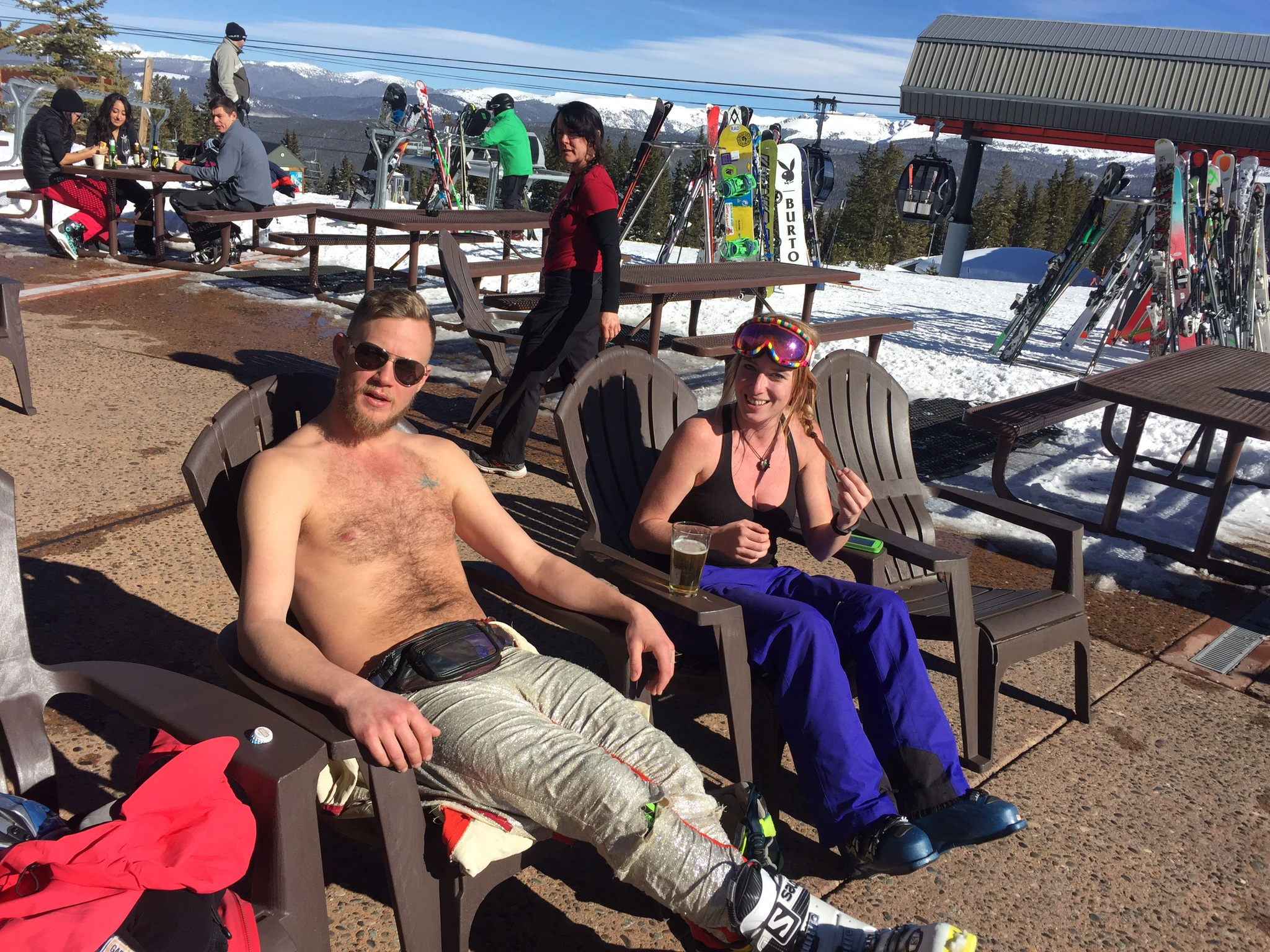 Daytripper365--Chilling on the mountain in Aspen.JPG