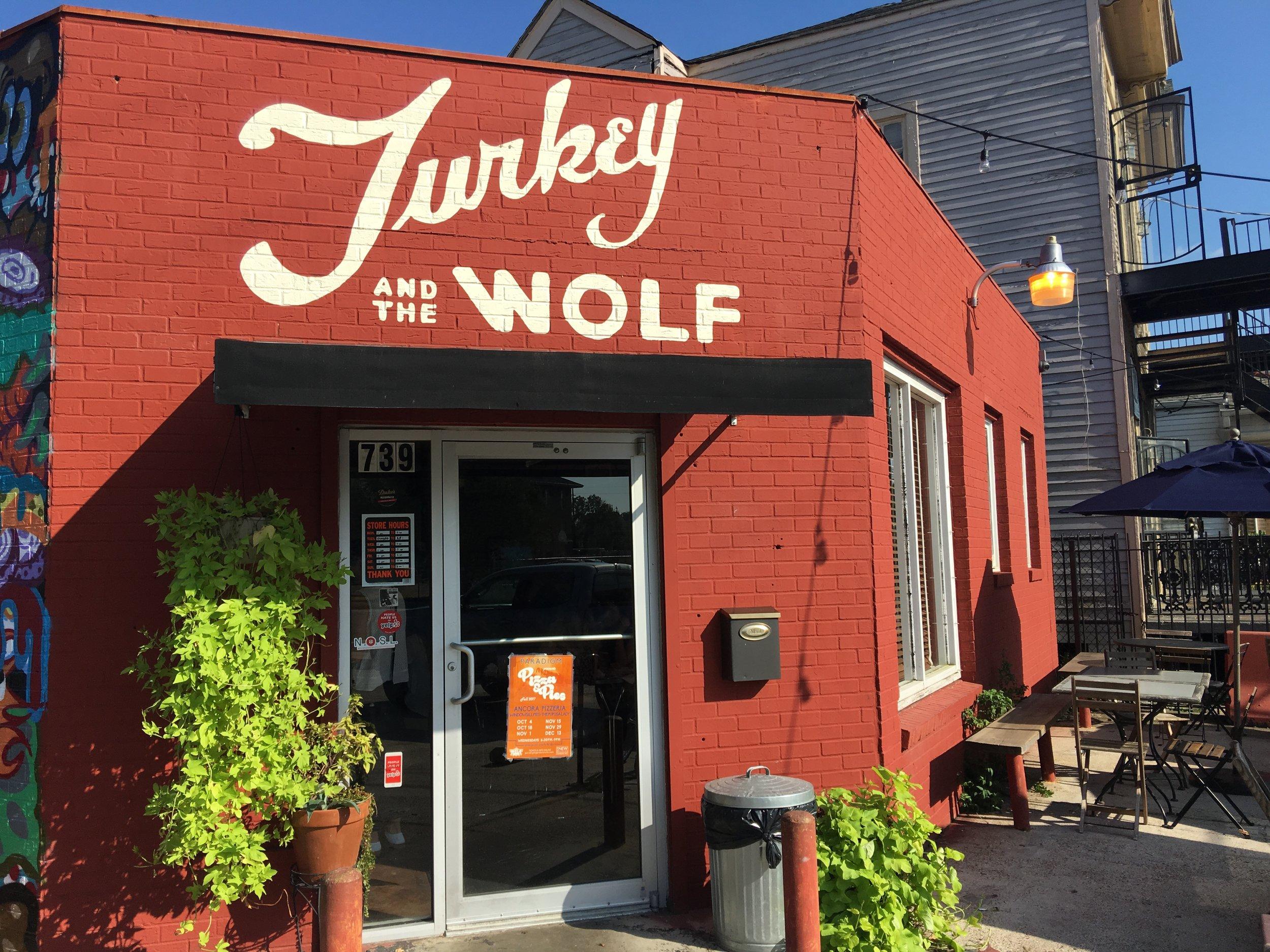Turkey and the Wolf.JPG