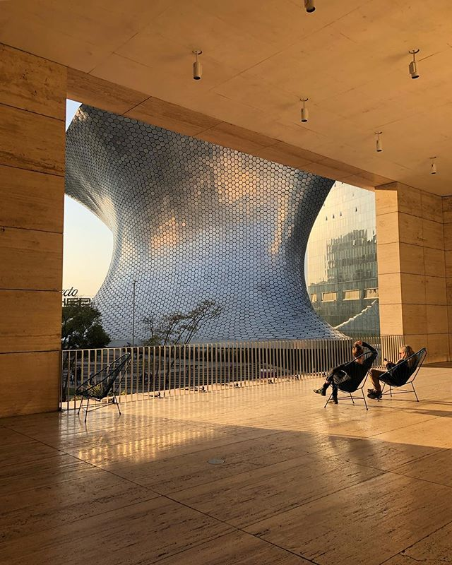 The view of the @elmuseosoumaya from the @museojumex.  The Soumaya houses the collection of billionaire Carlos Slim and is named after Slim's late wife, Soumaya, who passed away in 1999. #mexicocity #artmuseums #travelgram . . . . . . . , . . #igersmexicocity #contemporaryart #artcollection #architecture #archdaily #architectureinspiration #cdmx_oficial #mexicocityart #mexicocityofficial #travelguide #dametraveler #goopgo #exploreeverywhere #mytravelguide #mytravelgrams #awesomeplaces #artistsonig #museumarchitecture