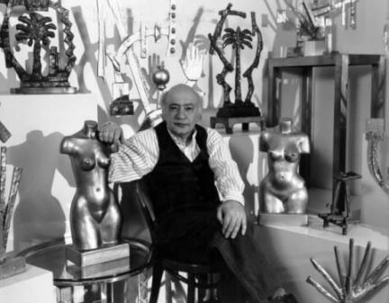 Oded Halahmy in his studio.