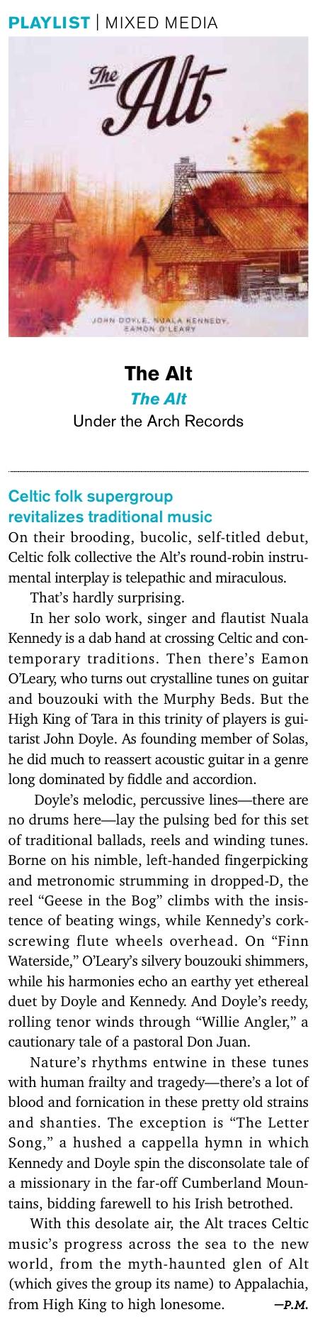 Acoustic Guitar Magazine  (December 2014)