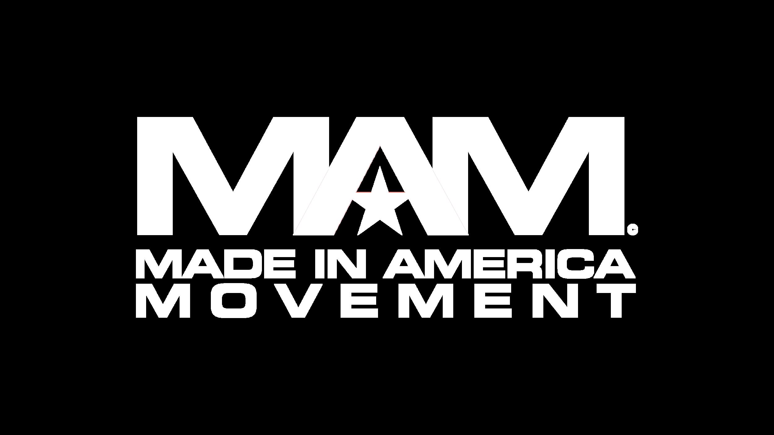MAM logo white