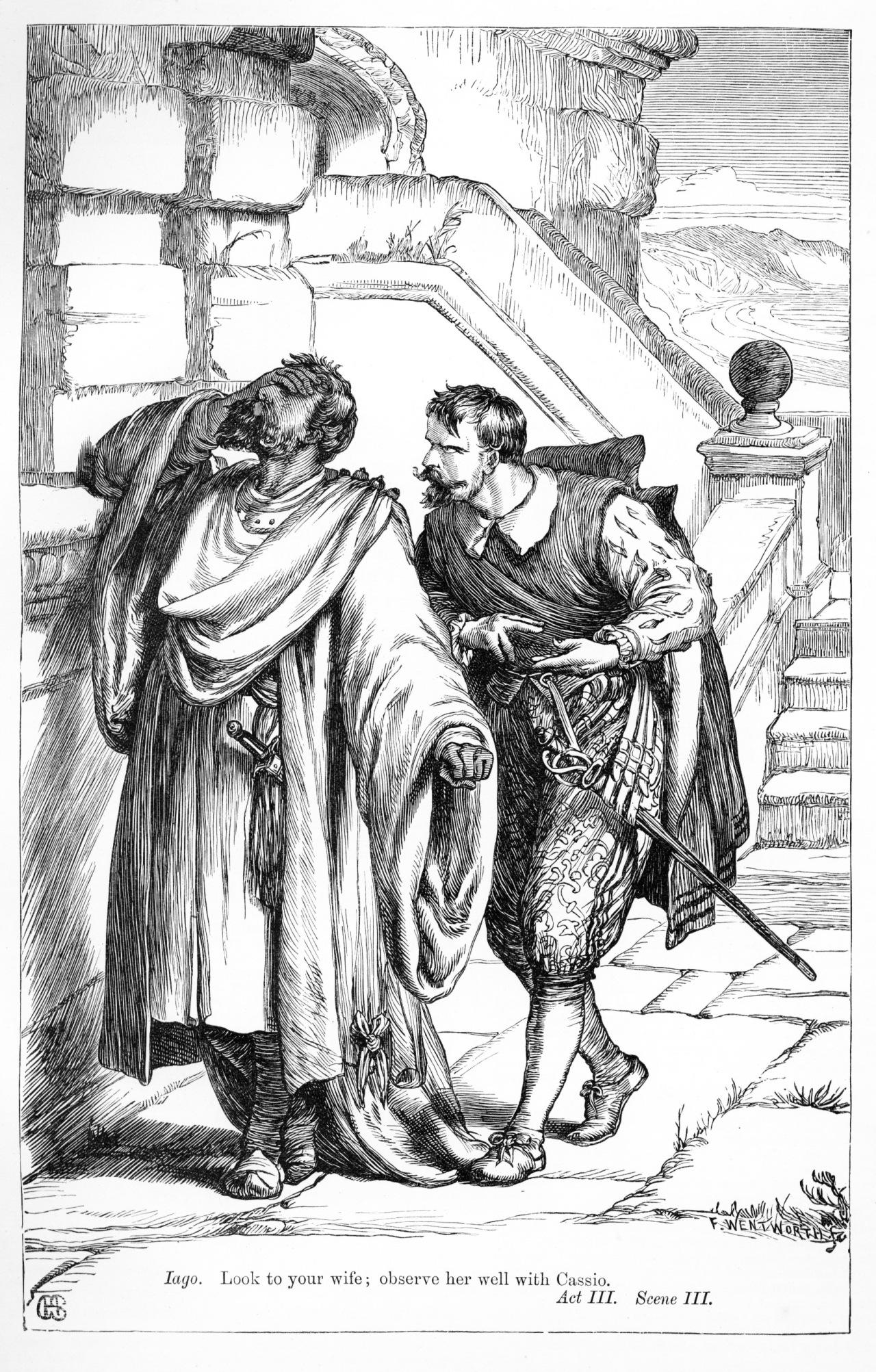Iago tortures Othello