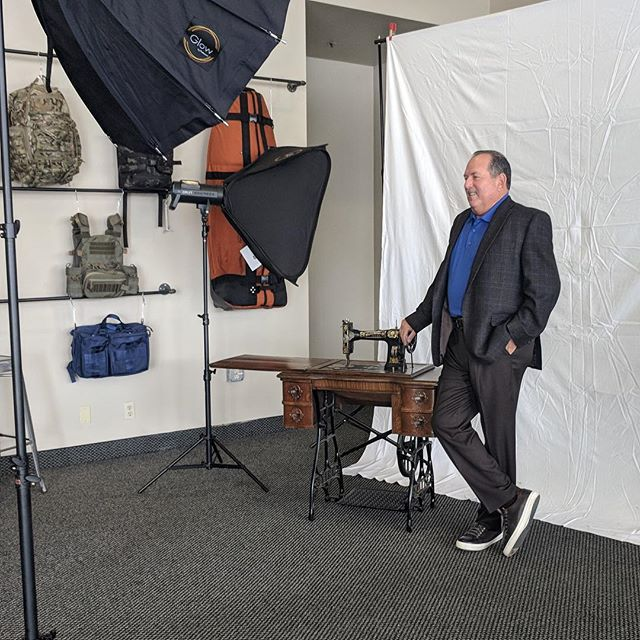 Looking forward to the #ifai expo this month and a cover story highlighting our manufacturing facility in November. Here's a behind the scenes sneak peak of our founder in chief Don Alhanati. Check out CustomFabusa.com to learn more. . . . #ifaiexpo2018 #fabric #fabrication #manufacturing #customfabusa #madeinamerica