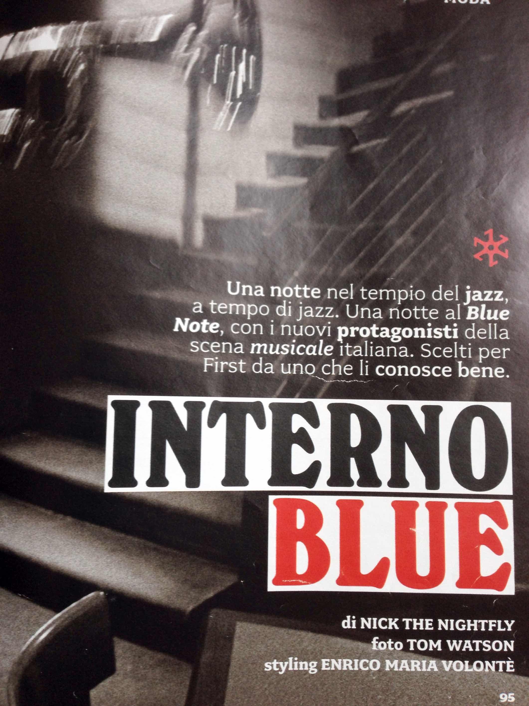 Interno Blue - Panorama First