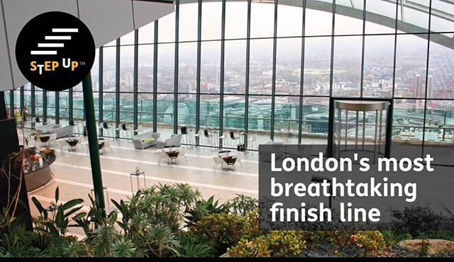 It's lovely to see my copy used for Mencap's #stepup challenge 2016! This is a super event, anyone can do it with minimal training and you end at the TRULY amazing Skygarden on the top of the Walkie Talkie building which...as I said....takes your breath away if the thousands of steps and 36 floors haven't done that already.... #copywriter #freelancer #injustice #socialchange #fortheloveofwords #writer #copy #charities #sportschallenge #keepfit #London #fundraiser