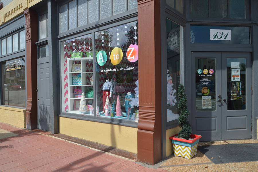 A to Z Children's Boutique, Bainbridge, GA-Design, Print, Installation