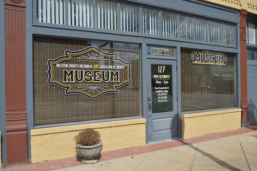 Decatur County Historical Museum, Bainbridge, GA-Design, Print, Installation