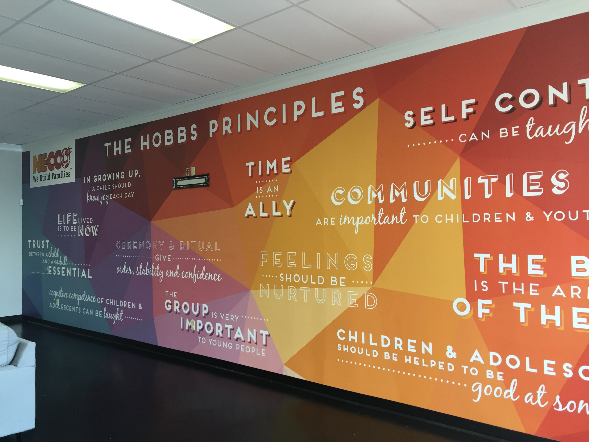 NECCO Adoption Agency Lobby-Design