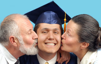 Grandparent Kisses
