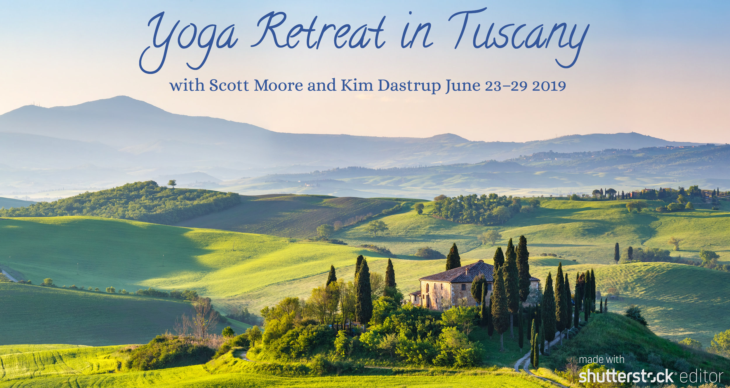 Tuscany Yoga Retreat.