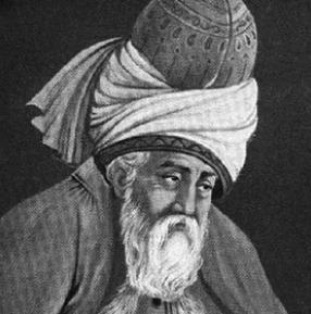 Rumi   Photo: https://www.poets.org/poetsorg/poet/jalal-al-din-rumi