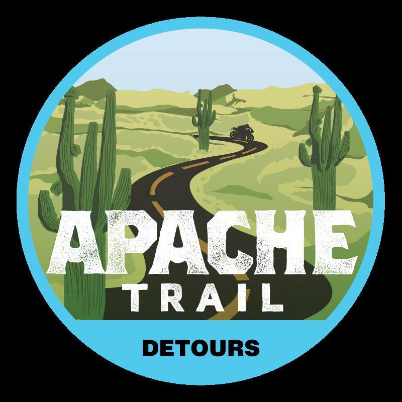 Apache Trail Tour Badge