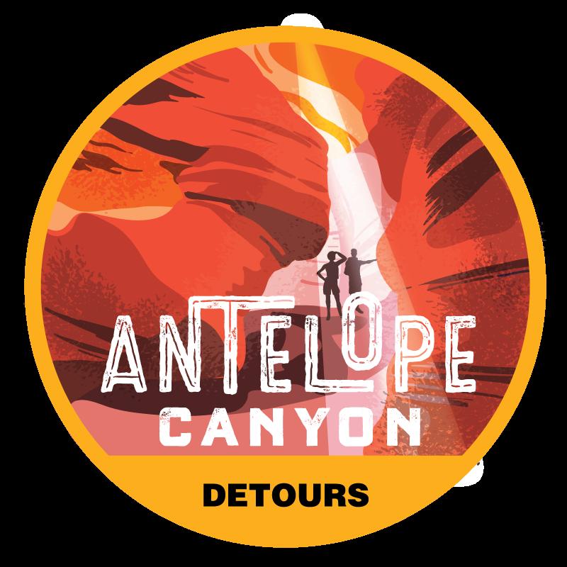 Antelope Canyon Tour Badge