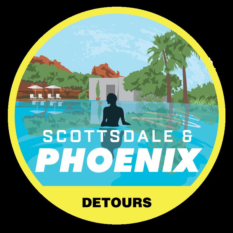 Scottsdale & Phoenix Tour Badge