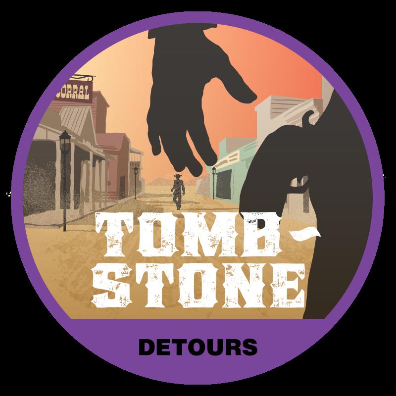 Tombstone Tour Badge
