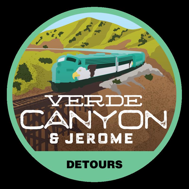 Verde Canyon Tour Badge