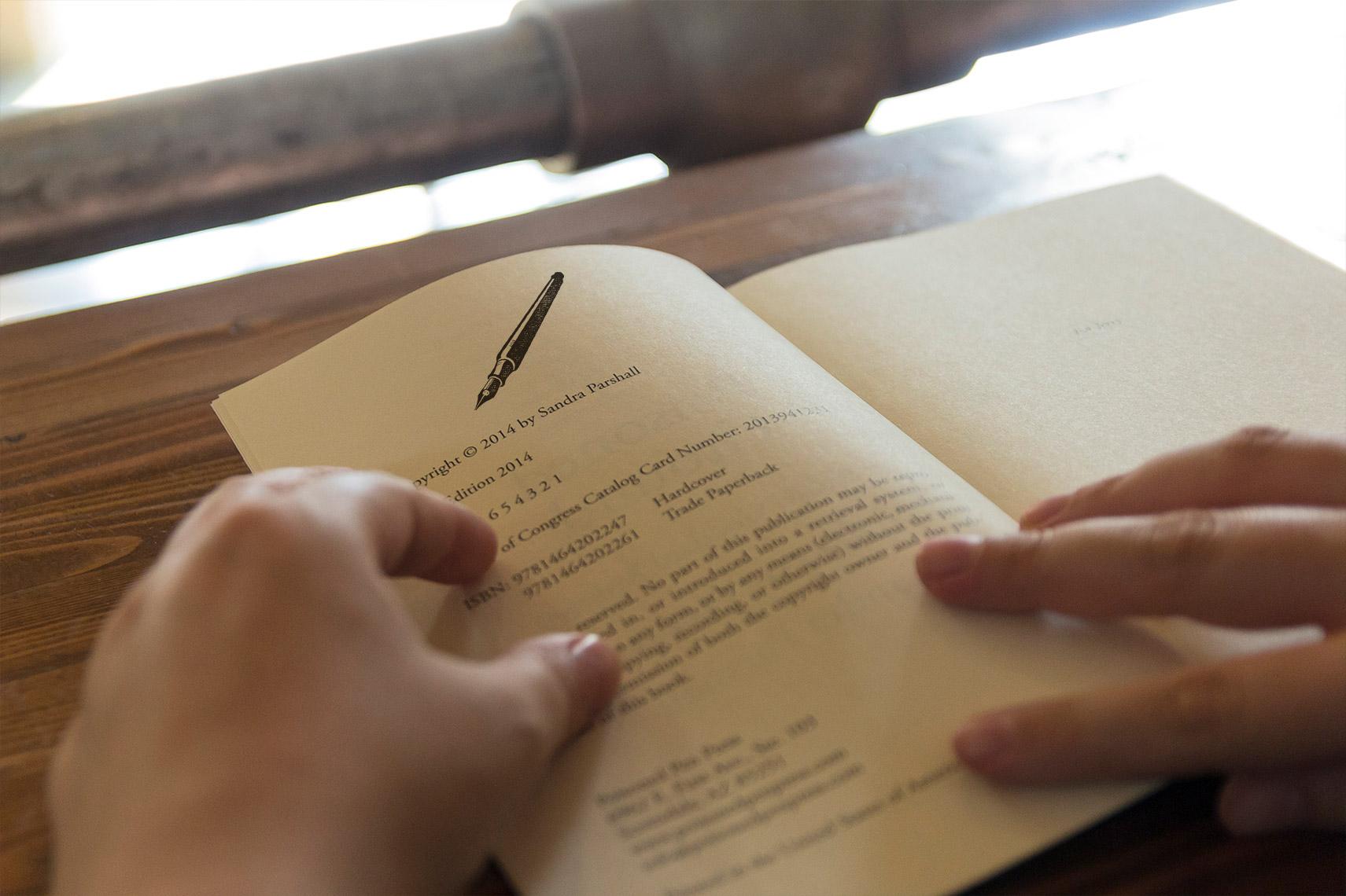 Book Interior Mark
