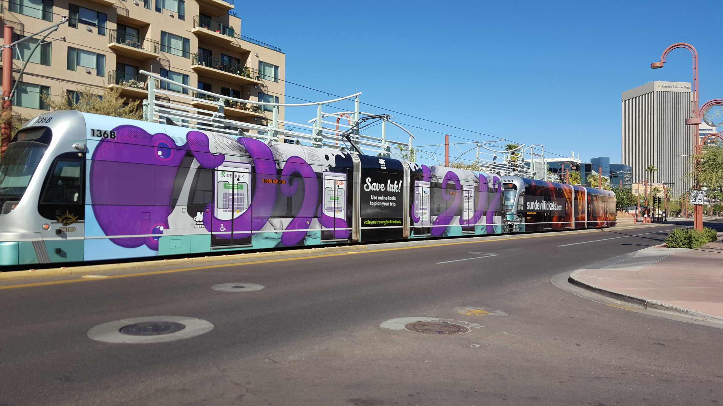 Light Rail Wrap