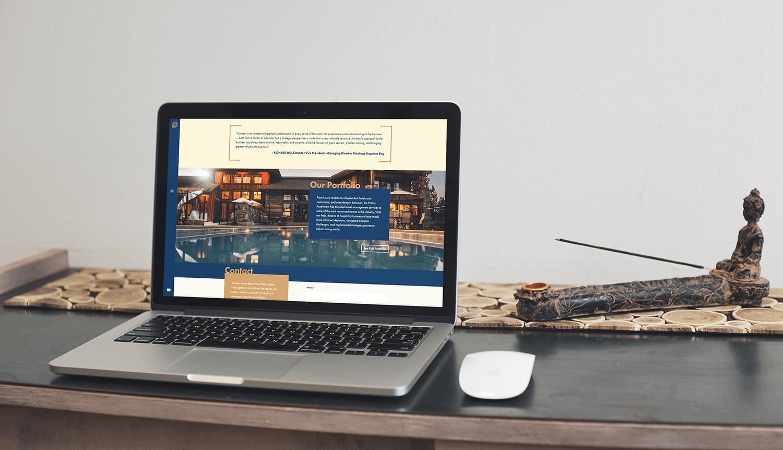 Home Page Portfolio Lead-In
