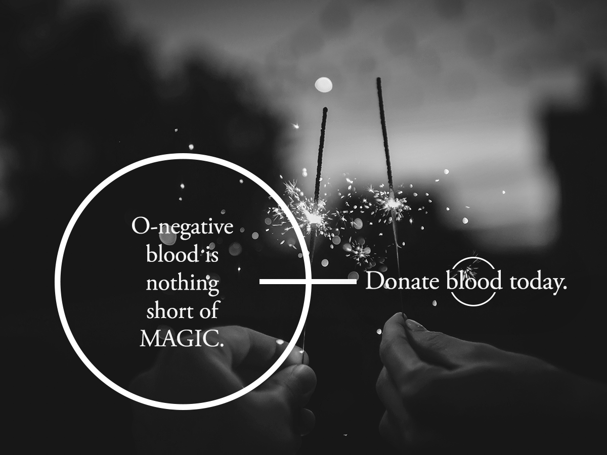 O Negative Donor Social Media