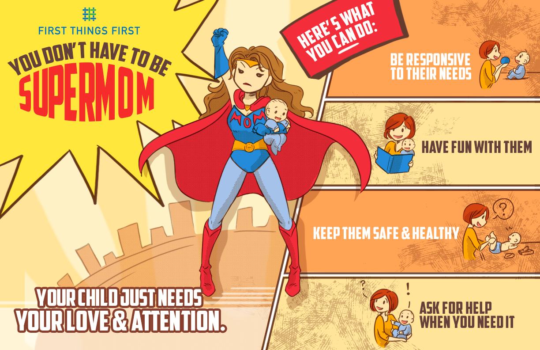 Supermoms Infographic