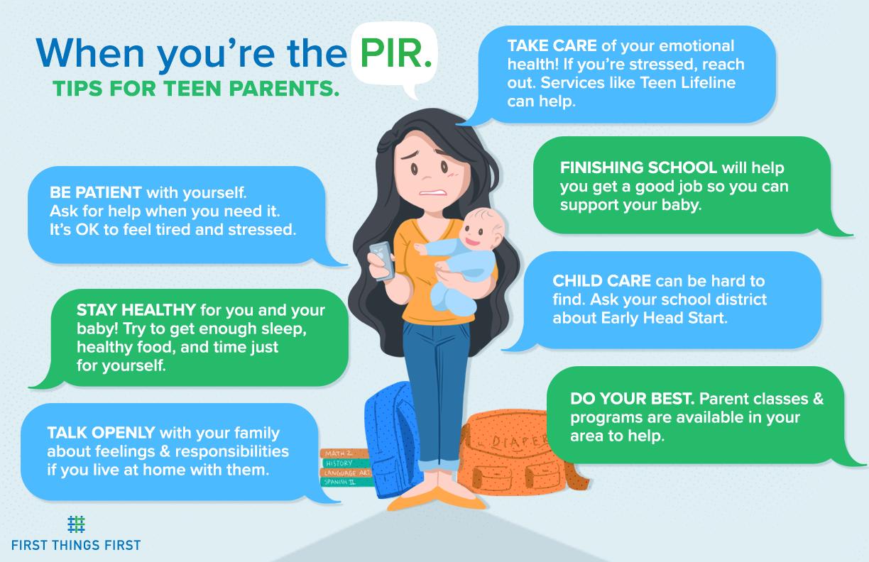 Teen Parents Infographic