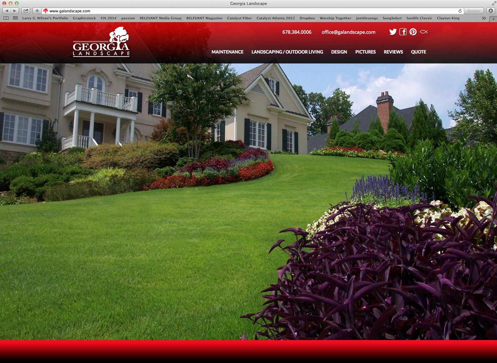 Website - Click image to visit www.galandscape.com