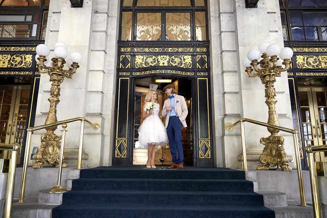 On their way to exchange vows...  Image courtesy   A ngela Altus