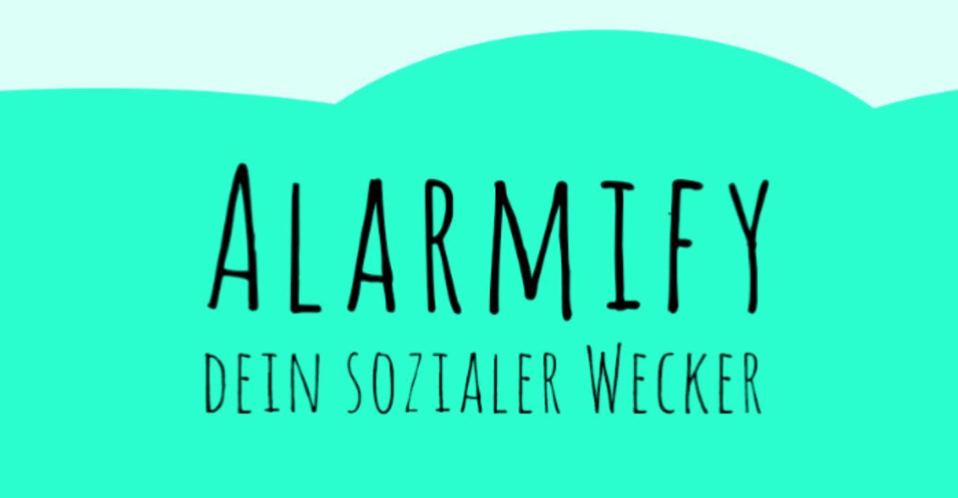 Abbildung 1: Alarmify Logo (2016) - Quelle: eigene Gestaltung, Behr, Böttcher, Zarges