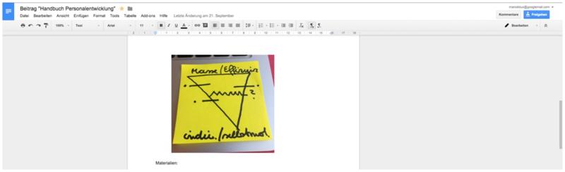Abbildung 5: Google Docs bietet ein umfassendes Gesamtpaket in Sachen Online-Zusammenarbeit.