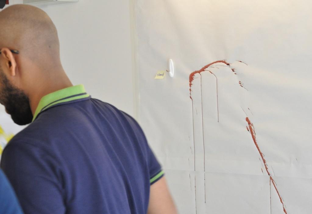 team has identified start of bloodshed in mock scene.JPG