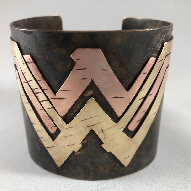 2017 Wonder Woman Logo Cuff