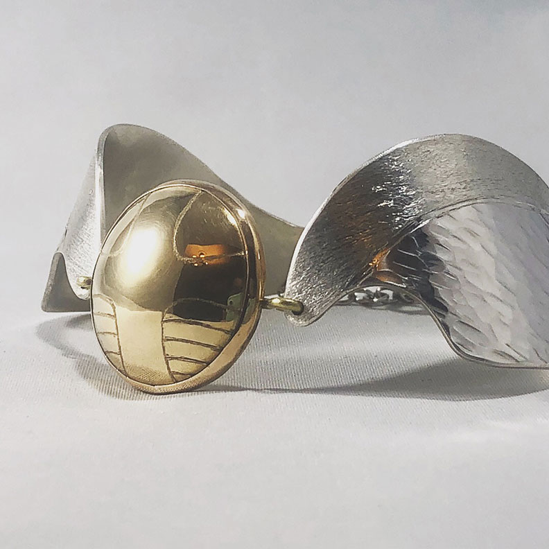 Golden Snitch Cuff