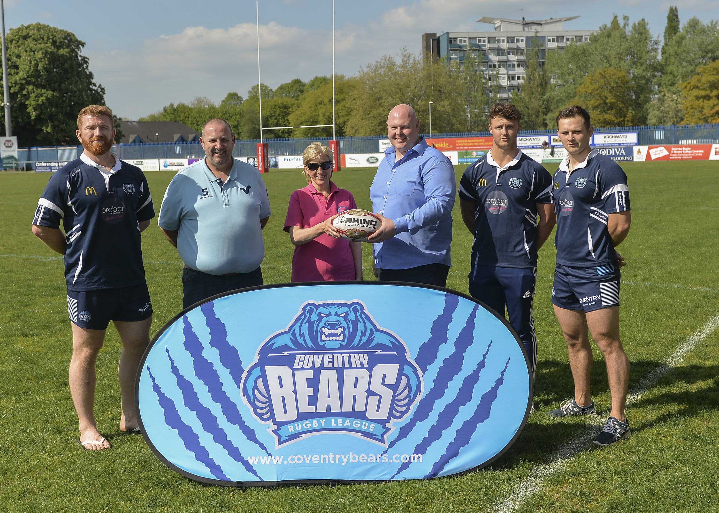 The Bears with new sponsors Orgbar Aluminium